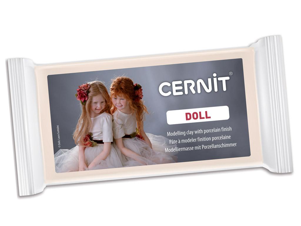 Polimerinis molis Cernit Doll 500g 425 carnation