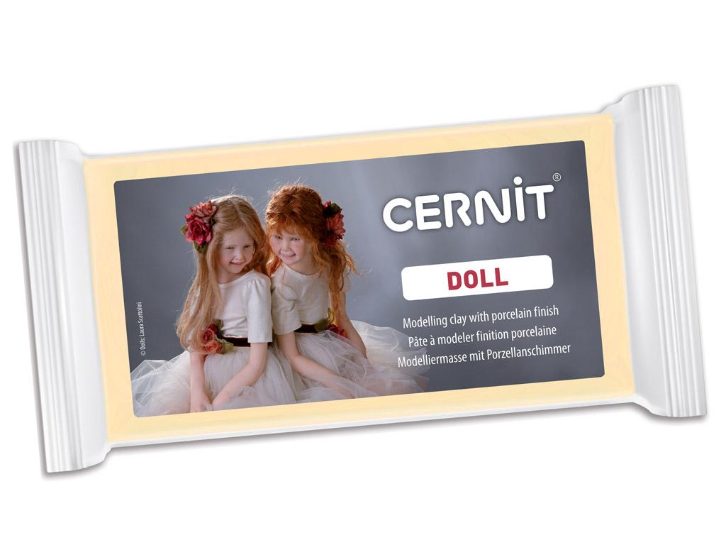 Polimerinis molis Cernit Doll 500g 744 almond