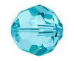 Kristallhelmes Swarovski ümar 5000 4mm 12tk 202 aquamarin