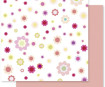 Paber Scrapbooking Folia 30.5x30.5/190g Flowers 01