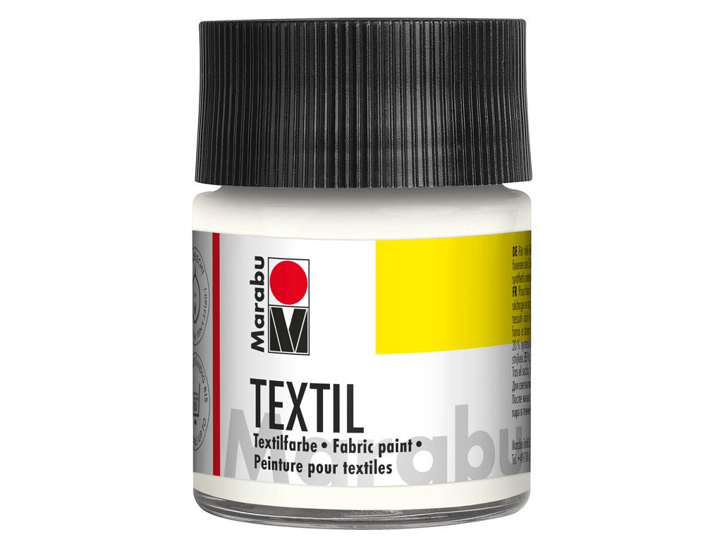 Tekstilės dažai 50ml 070 white