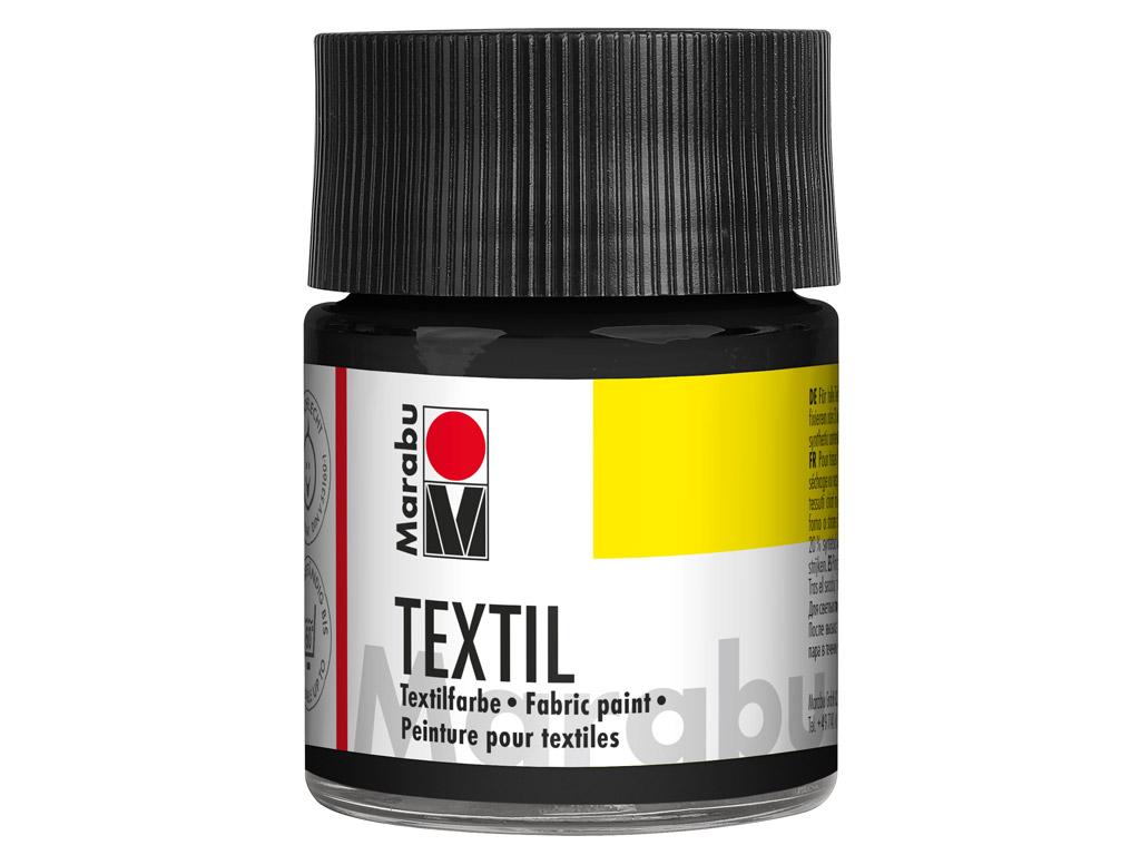 Tekstilės dažai 50ml 073 black