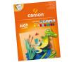 Kartong värviline Canson Kids 24x32/185g 10 lehte