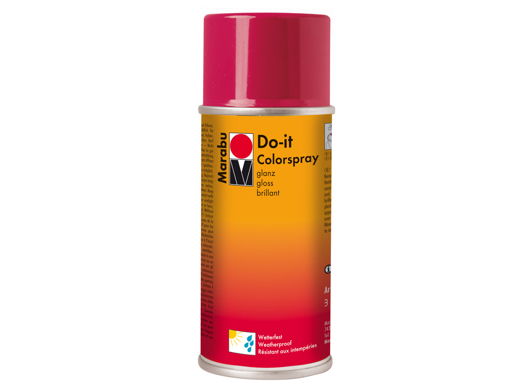 Aerozoliniai dažai Marabu Do-it 150ml 931 gloss red