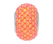 Kristallhelmes Swarovski BeCharmed Pave 80101 14mm 001API crystal astral pink