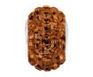 Kristallhelmes Swarovski BeCharmed Pave 80201 15mm 220 smoked topaz