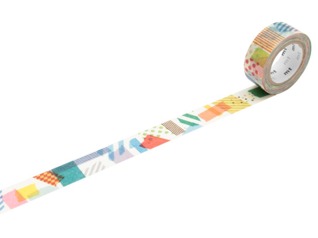 Washi dekoratyvi lipni juostelė mt for kids 15mmx7m peta peta