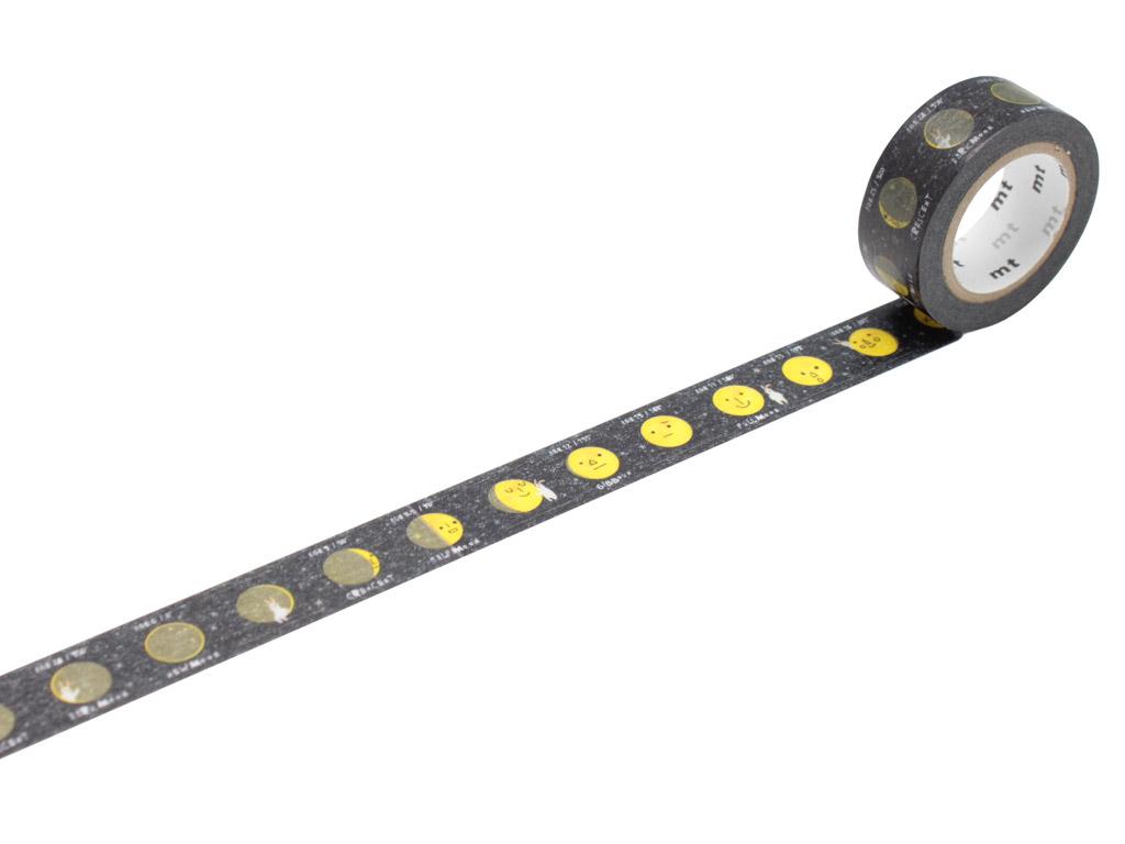 Washi dekoratyvi lipni juostelė mt for kids 15mmx7m moon