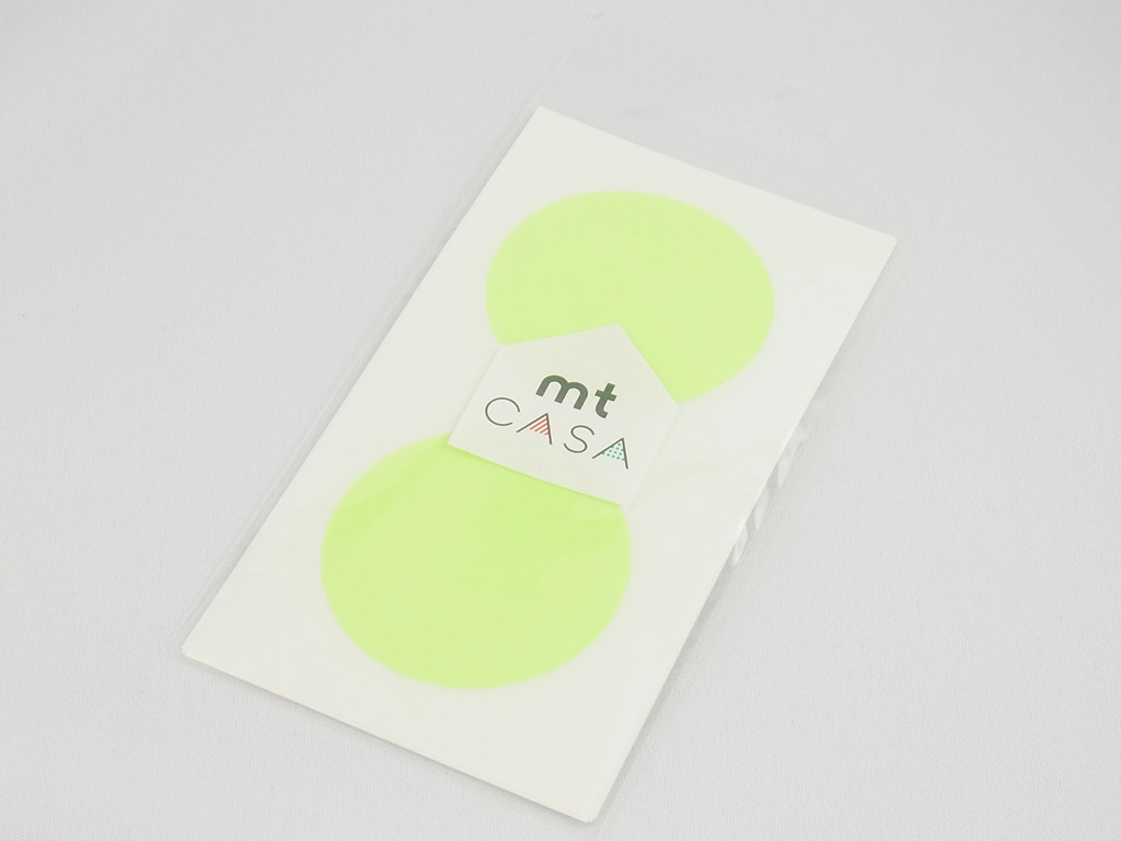 Kleebis mt casa seal d=50mm 10tk shocking green