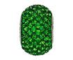 Kristallhelmes Swarovski BeCharmed Pave 80101 14mm 260 dark moss green