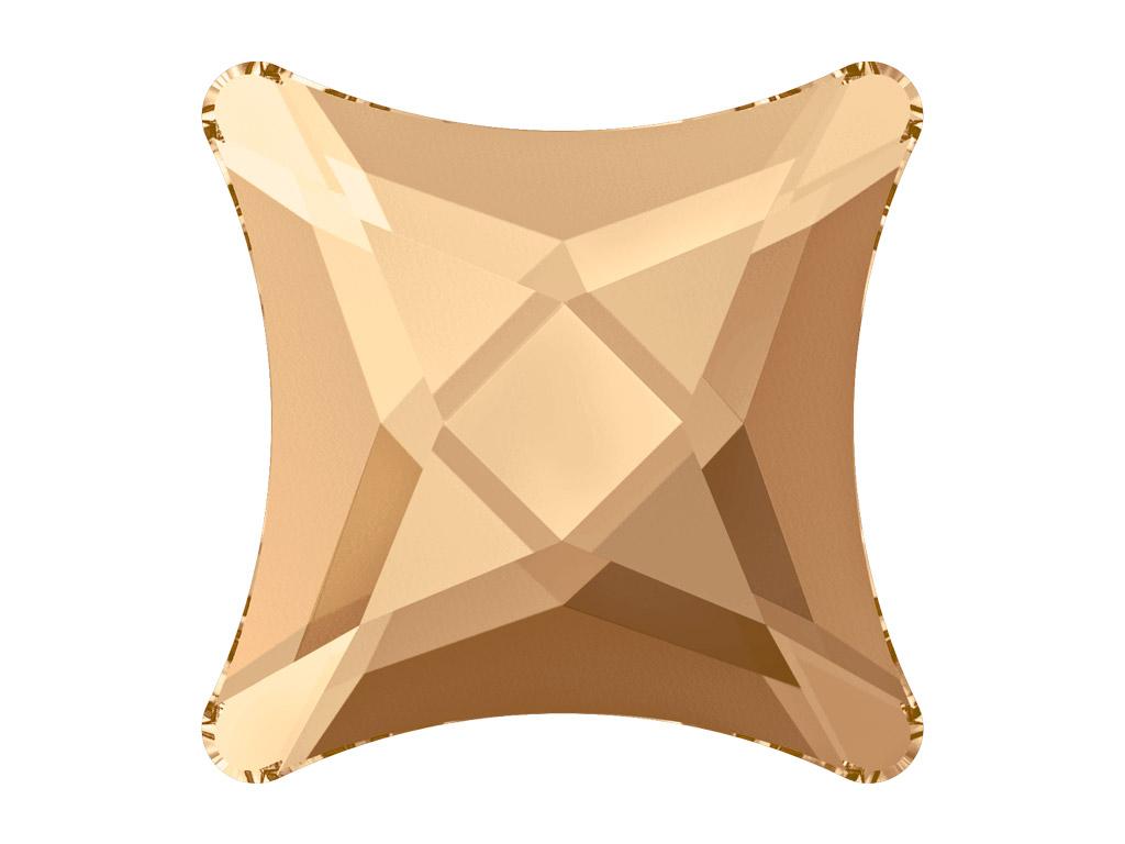 Krištolas Swarovski Flat Back No Hotfix žvaigždutė 2494 8mm 001GSHA crystal golden shadow