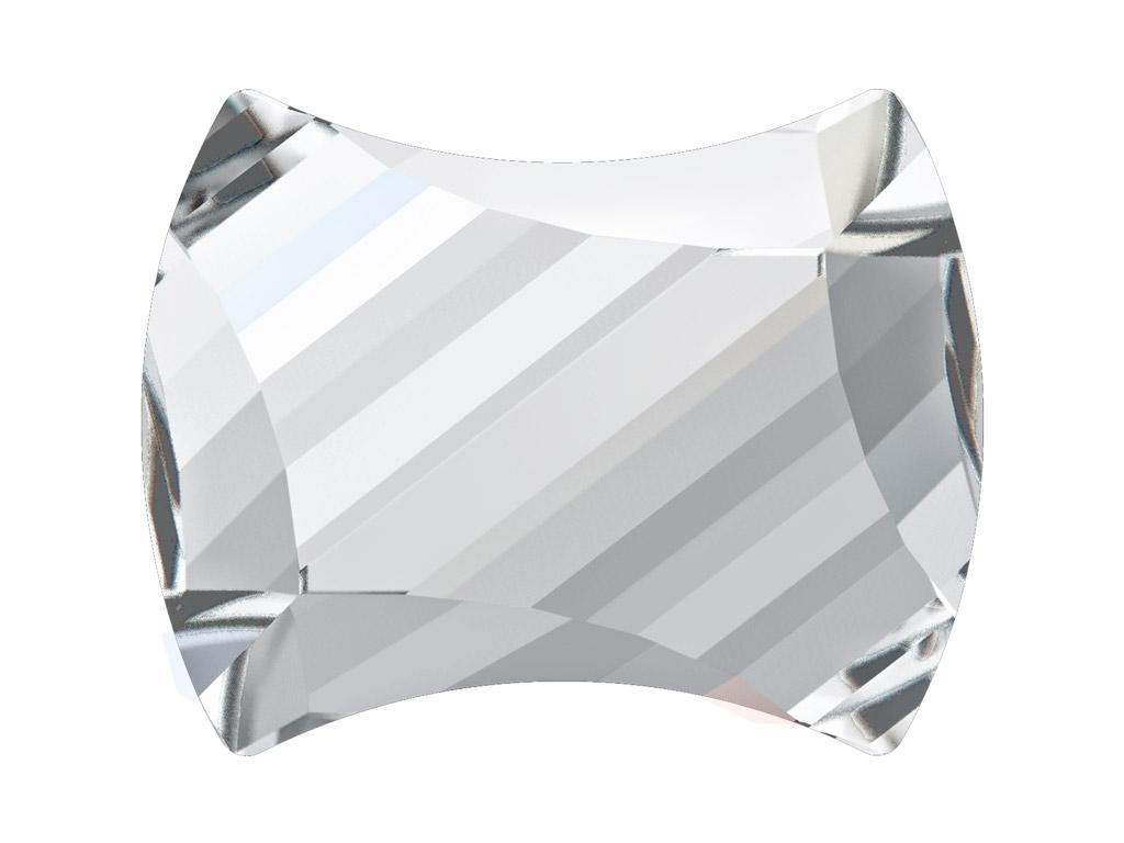 Krištolas Swarovski Flat Back Hotfix curvey 2540 12x9.5mm 001 crystal