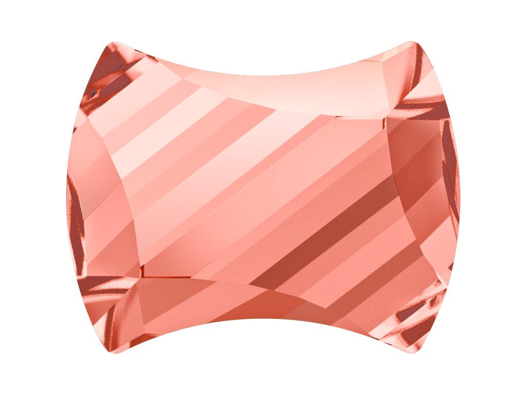 Krištolas Swarovski Flat Back Hotfix curvey 2540 12x9.5mm 262 rose peach