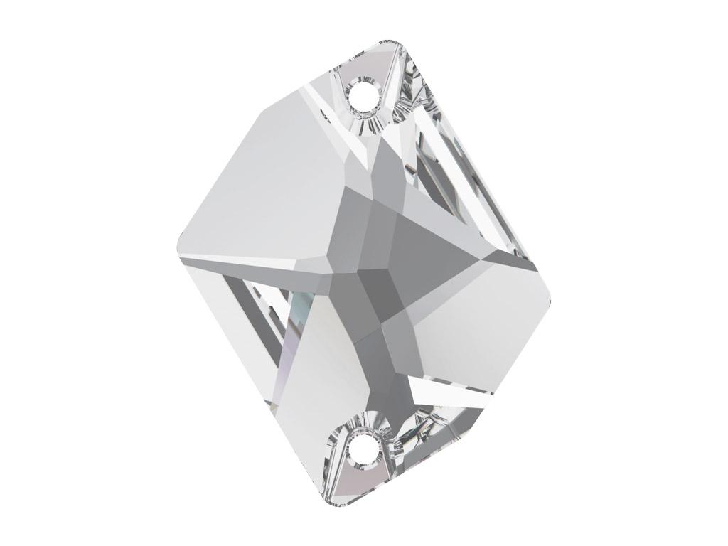 Kristallhelmes õmblemiseks Swarovski cosmic 3265 26x21mm 001 crystal