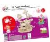 3D puzzle puidust Marabu Kids Fairy House 43 osa