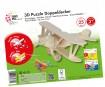 3D puzzle puidust Marabu Kids Bi-plane 25 osa
