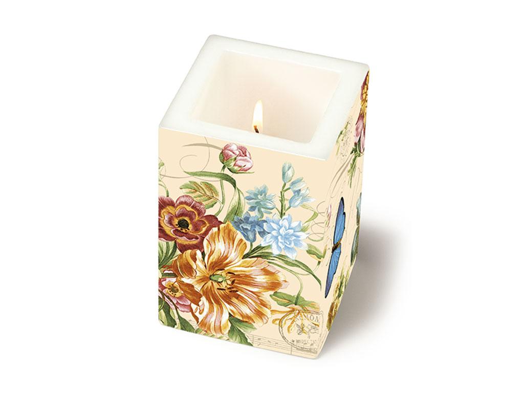 Žvakė 8x8x12cm Vintage Summer