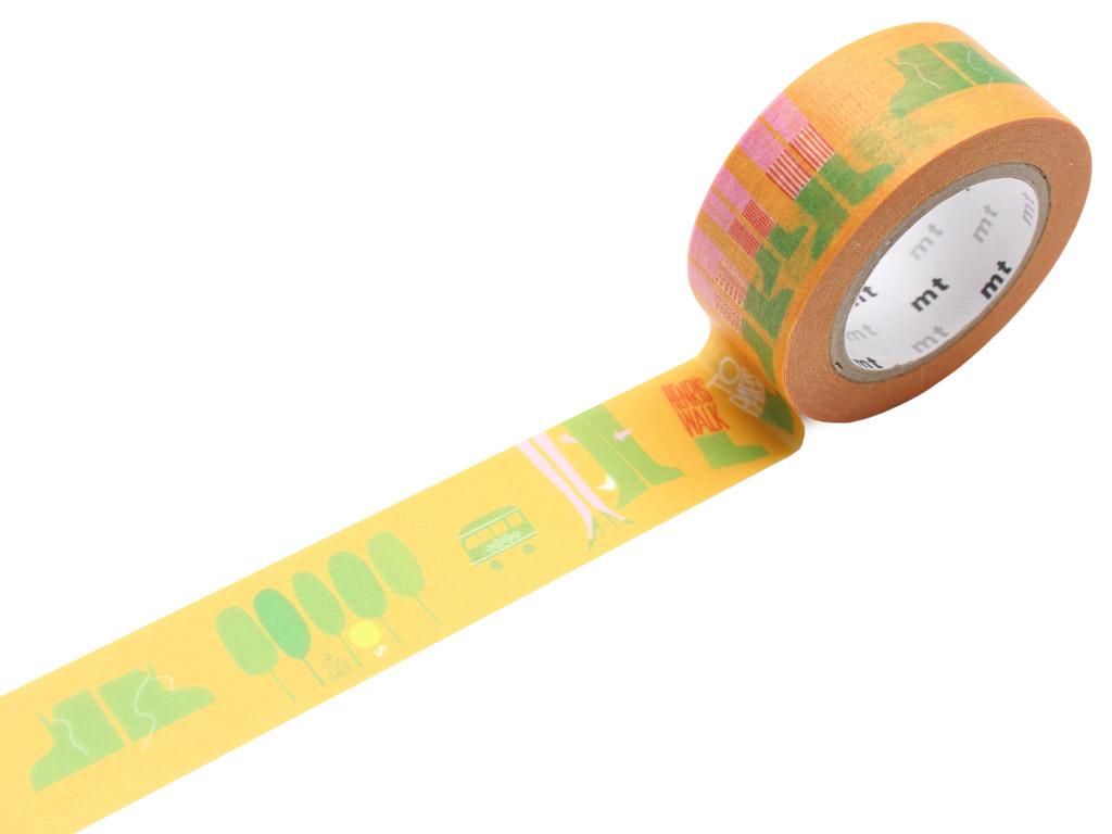 Washi dekoratyvi lipni juostelė mt Saul Bass 20mmx10m walk