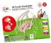 3D puzzle puidust Mara Grasshopper 26 osa