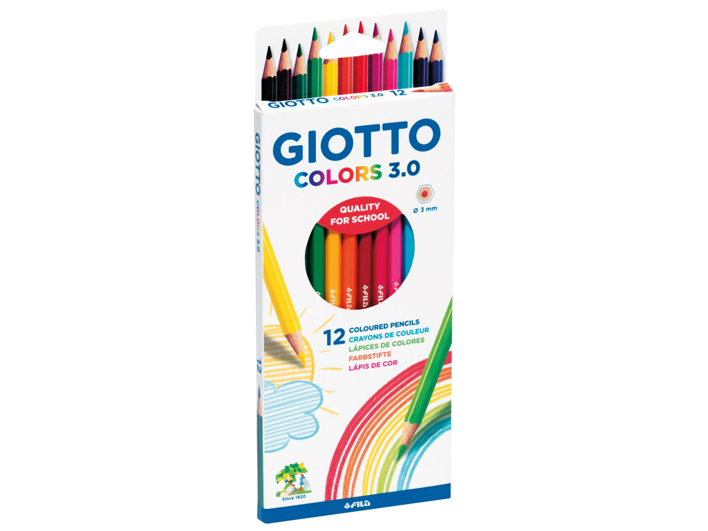Colour pencil Giotto Colors 3.0 12pcs