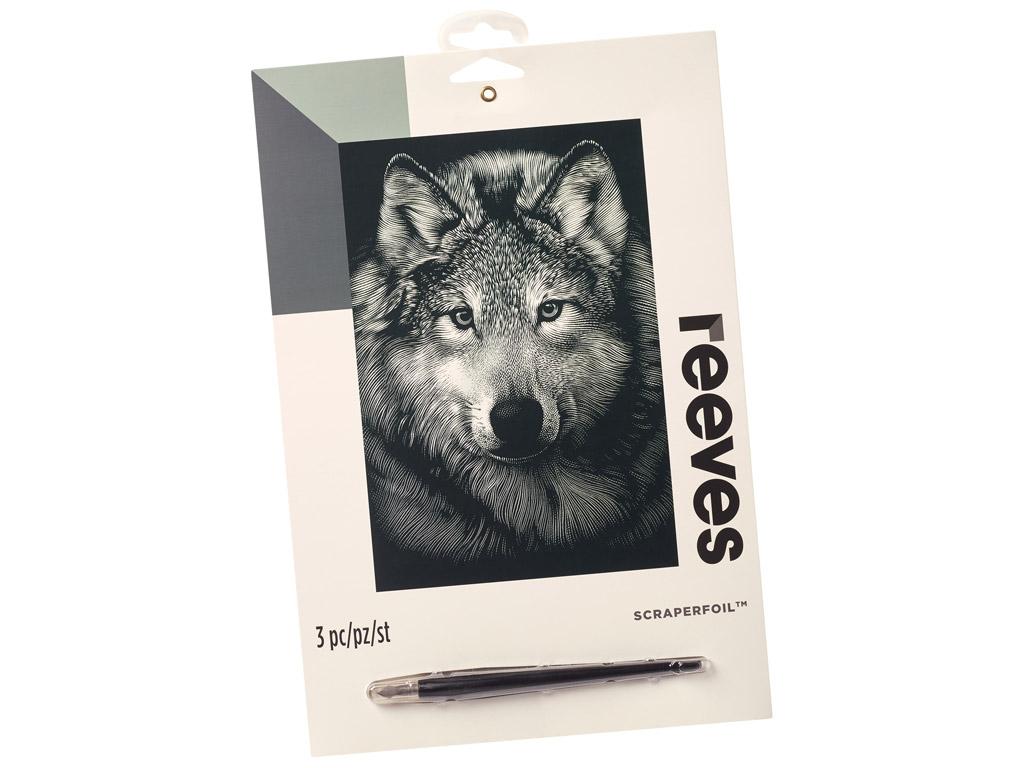 Kraapeplaat Reeves 25x20cm Silver Wolf