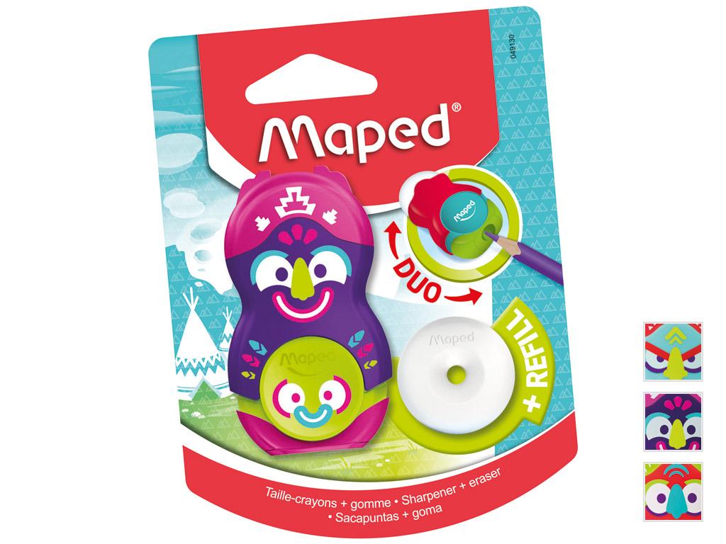 Drožtukas-Trintukas Maped su 1 skylutėmis Loopy Totem blister.