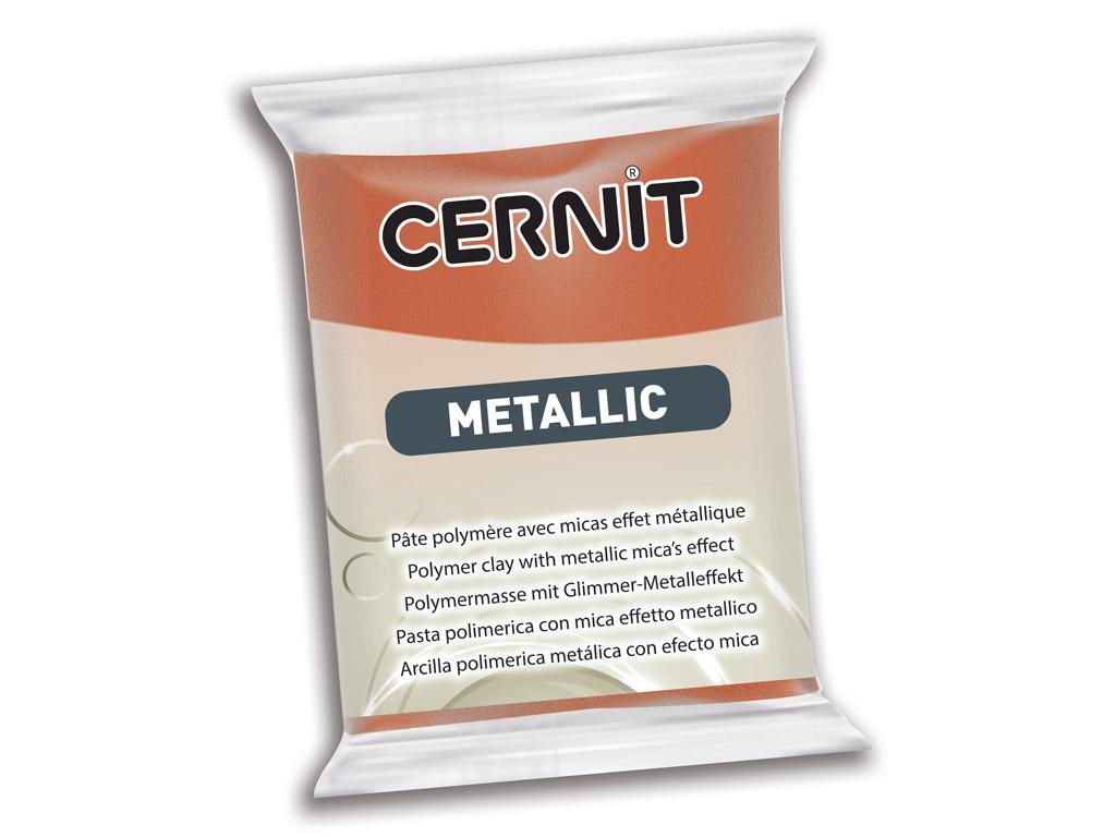 Polimerinis molis Cernit Metallic 56g 058 bronze