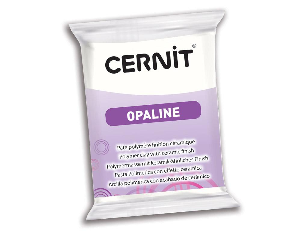 Polimerinis molis Cernit Opaline 56g 010 white