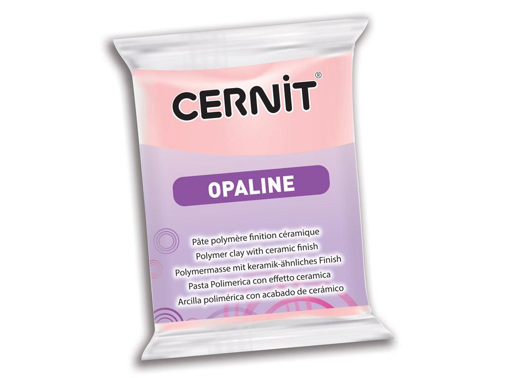 Polimerinis molis Cernit Opaline 56g 475 pink