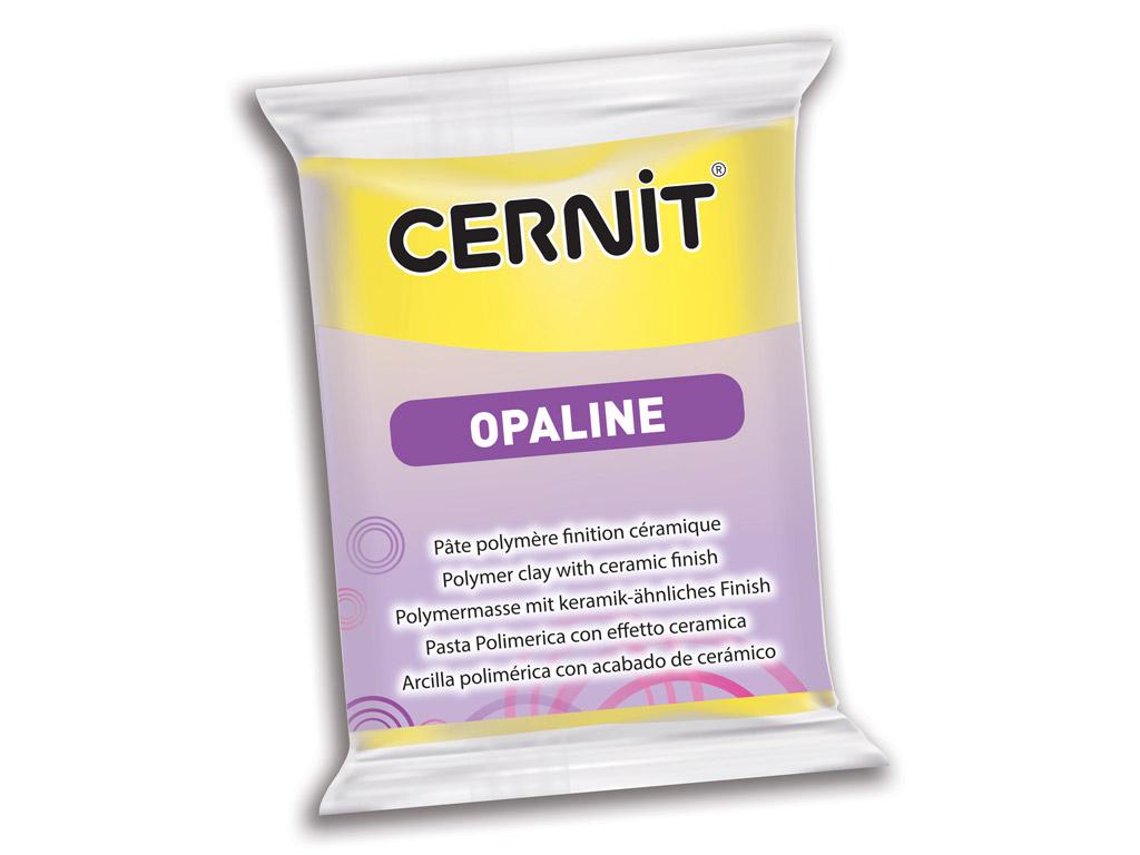 Polimerinis molis Cernit Opaline 56g 717 primary yellow