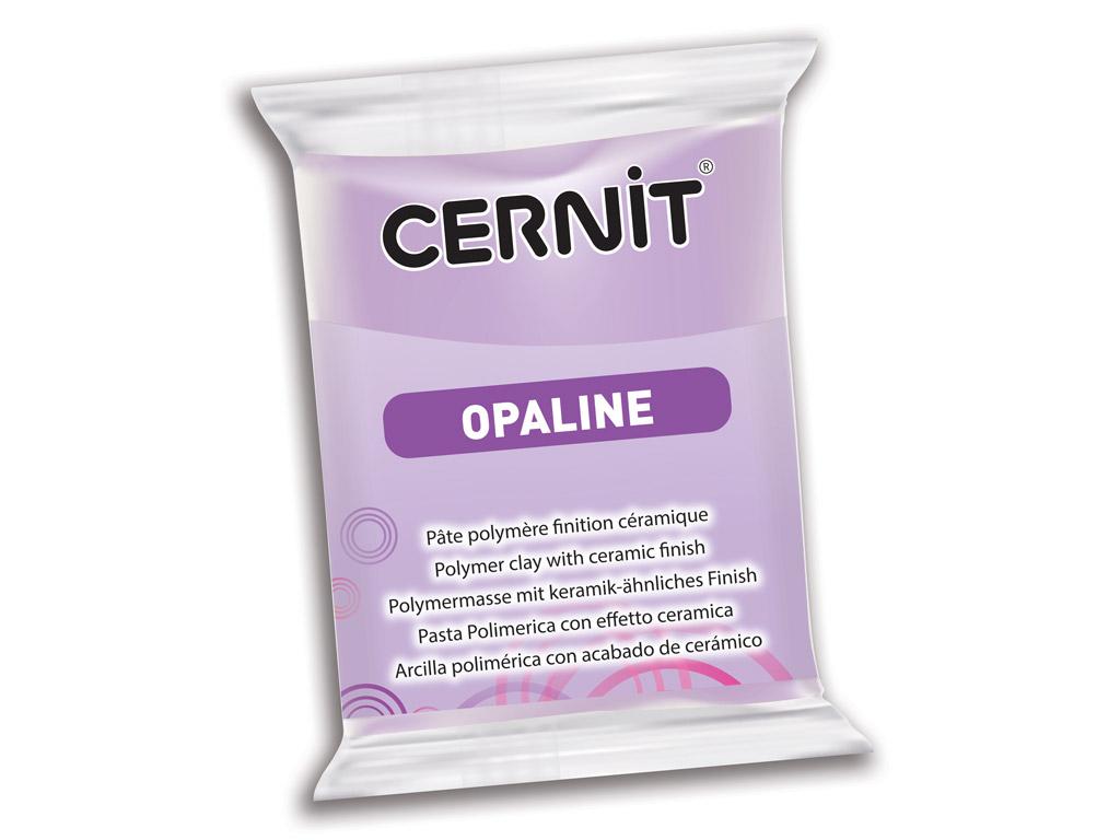 Polimerinis molis Cernit Opaline 56g 931 lilac