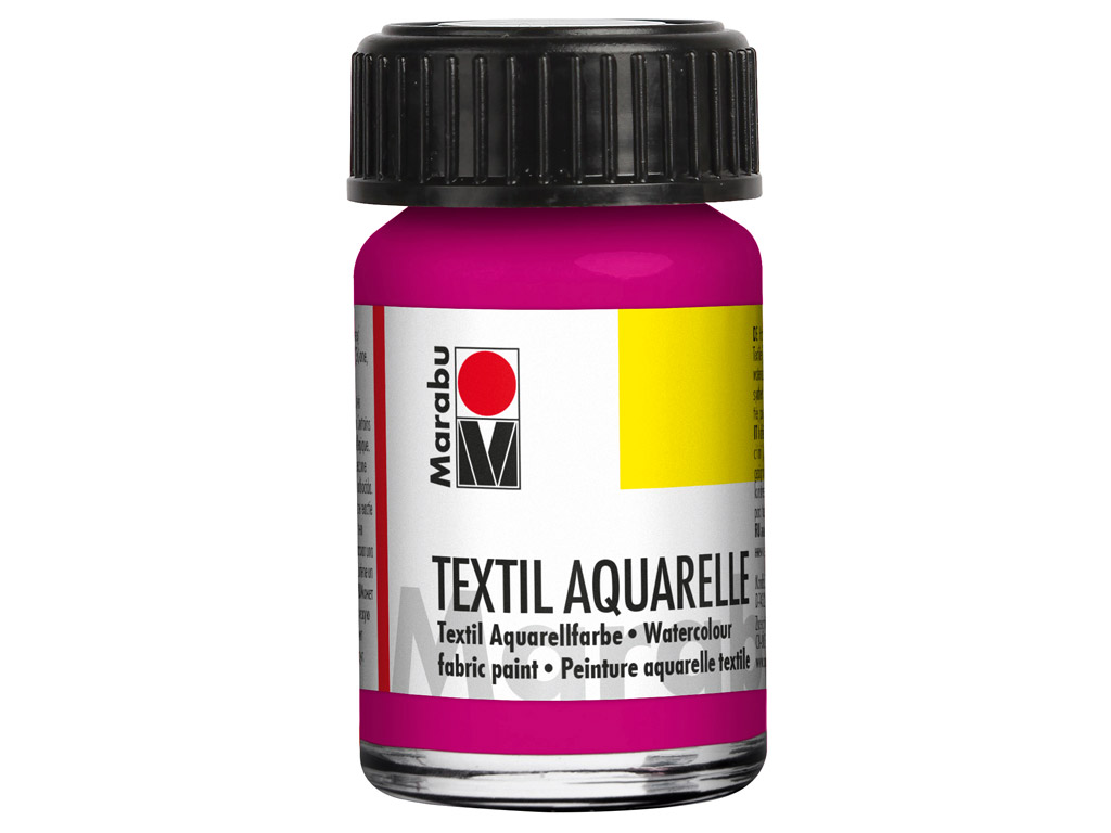 Tekstiilivärv Aquarelle 15ml 014 magenta
