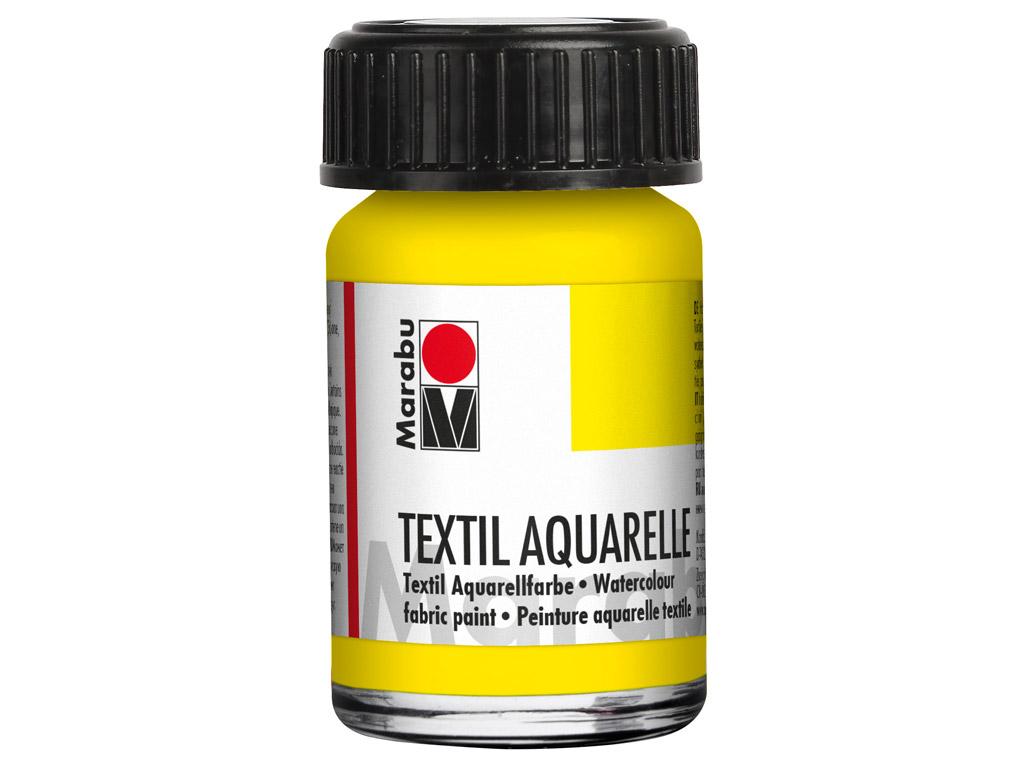Tekstiilivärv Aquarelle 15ml 020 lemon