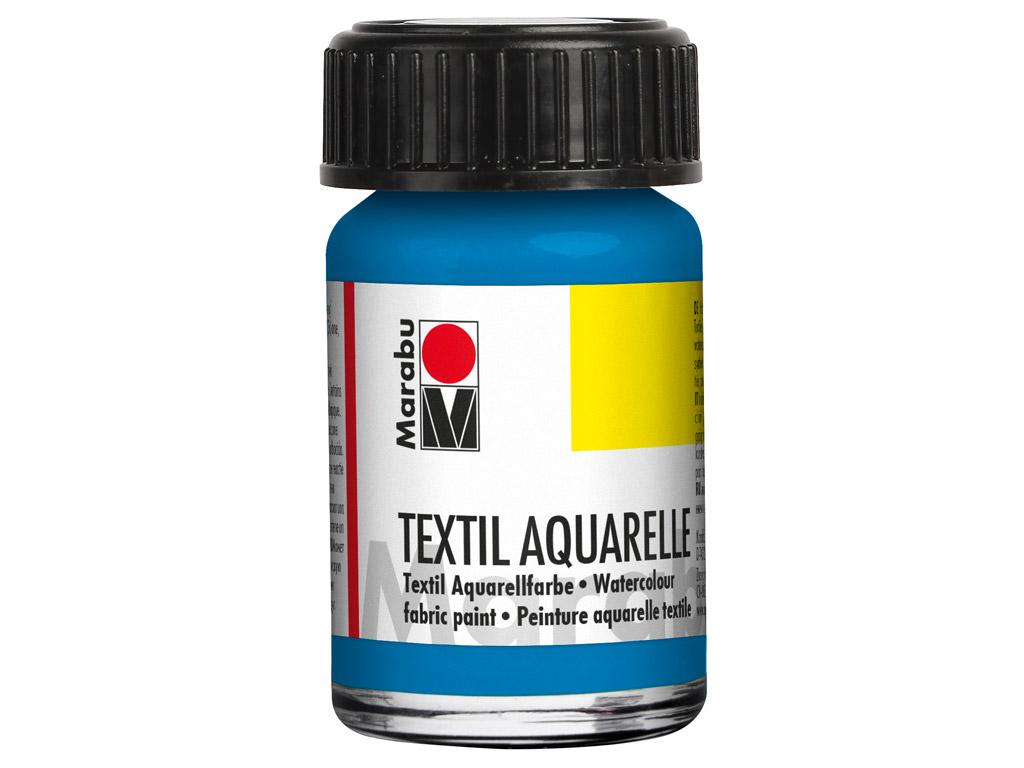 Tekstiilivärv Aquarelle 15ml 056 cyan