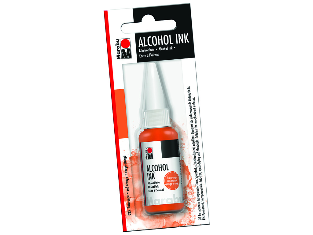 Alkoholitint Marabu 20ml 023 red orange blistril