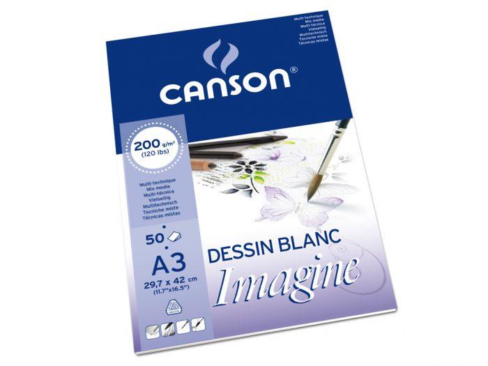 Piešimo bloknotas Canson Imagine