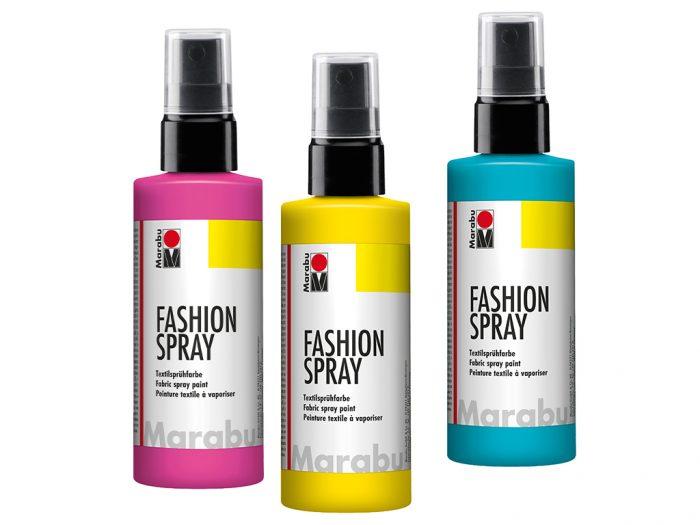 Tekstilės dažai Marabu Fashion Spray 100ml - 1/5