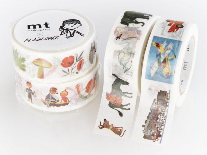 Washi dekoratyvi lipni juostelė mt Alain Gree