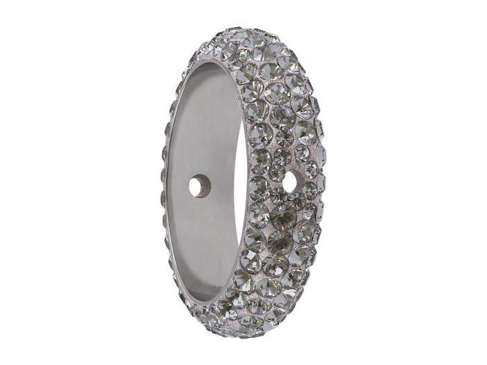 Krištolinis karoliukas Swarovski BeCharmed Pave ring 85001 16.5mm - 1/2