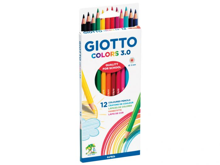 Colour pencil Giotto Colors 3.0 - 1/2