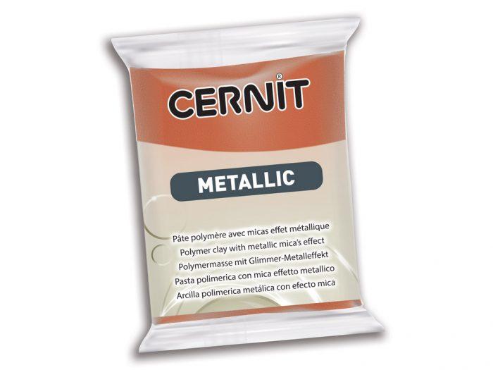 Polimerinis molis Cernit Metallic 56g