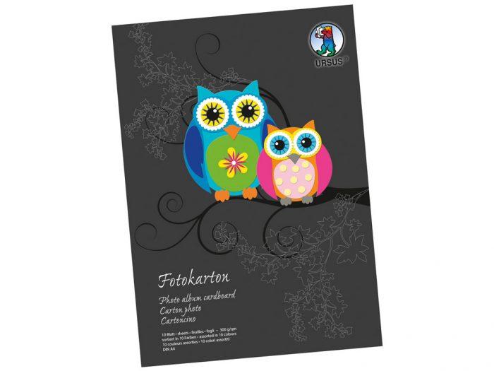 Värvilise kartongi plokk Ursus Special Edition